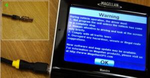 Magellan battery